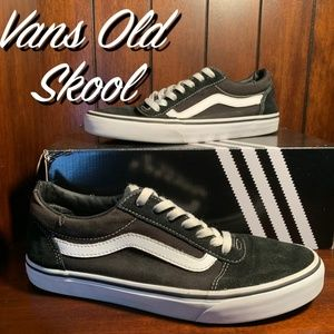 Vans Old Skool Black Mens Casual Shoe Used